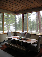 Dining Area at Faulkner Masterpiece in Martis Camp