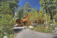 Image of Custom Log Home in Alpine Meadows
