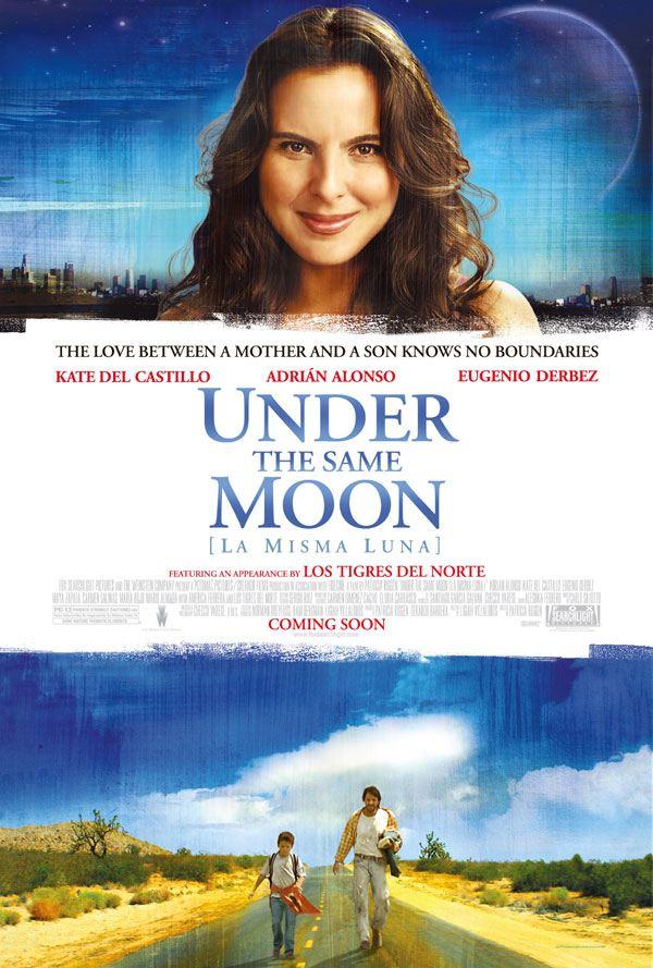 mujer bajo luna film: