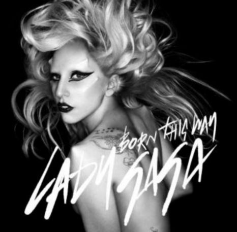 lady gaga born this way tattoo. The cover of Lady Gaga#39;s new