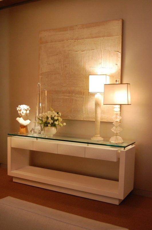 decoracao quadro branco:Hall De Entrada