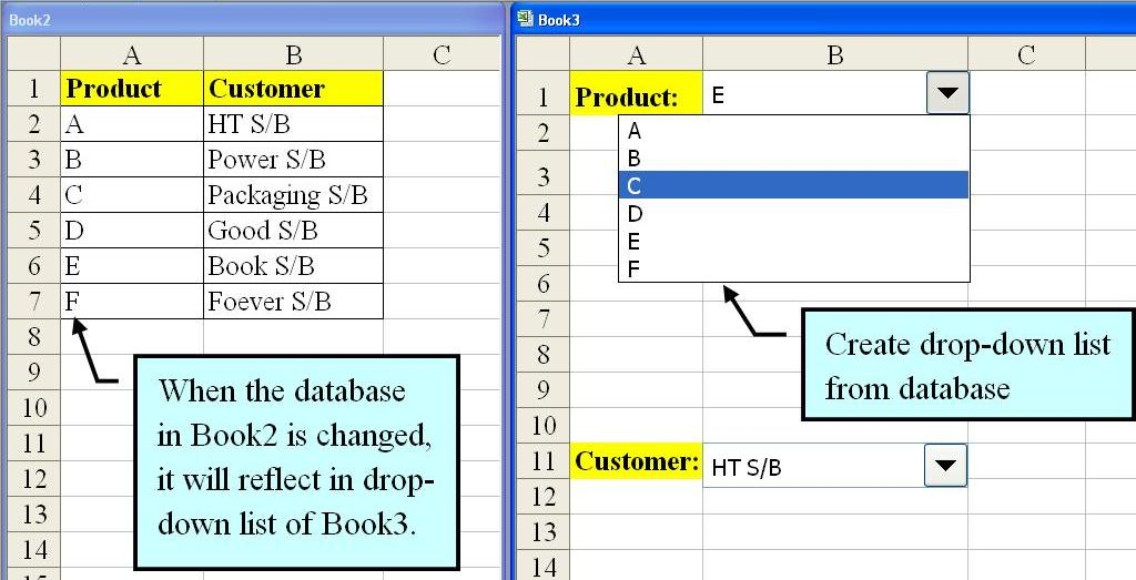 how to create a drop down list in word 2010