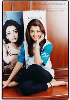 Aishwarya Rai Barefoot