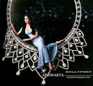 Bare feet Aishwarya rai