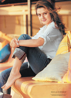Gorgeous Preity Zinta Barefoot