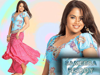 Sameera Reddy - Bollywood Telugu actress barefoot wallpaper