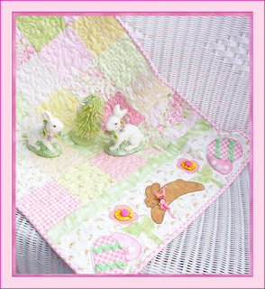 PatternMart.com ::. PatternMart: Easter Bunny Table Runner Pattern