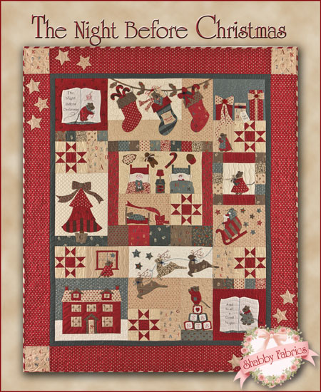The Shabby | A Quilting Blog by Shabby Fabrics: The Night Before ... : twas the night before christmas quilt - Adamdwight.com