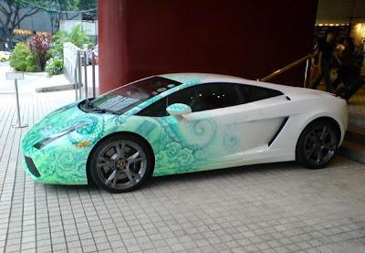 Mobile Design Jmp Lamborghini Gallardo Decal