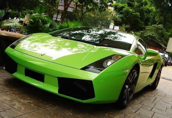 Lamborghini Gallardo Superleggera Green World