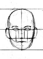 basic+facial+proportions The Helpful Art Teacher: MORE ON DRAWING FACES