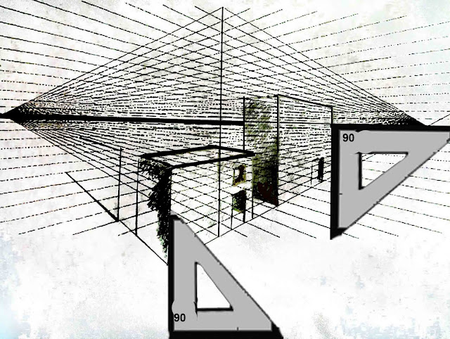 Drawing Vertical Lines In Html : The helpful art teacher two point perspective