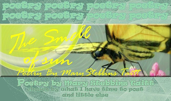 The Smell of Sun, Poetry by Mary Stebbins Taitt