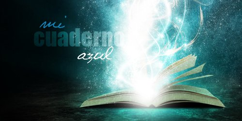 Mi cuaderno azul