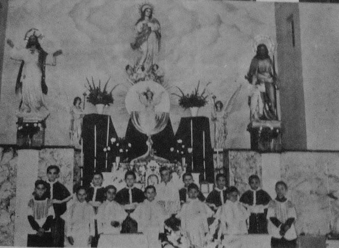 Altar Capilla del Colegio Maristas de Holguin