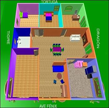 De qu color puedo pintar mi casa segn el feng shui - Colores para pintar mi casa ...