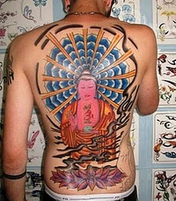 City and state licensed. Most work is customized. Big Buddha Tattoo Design