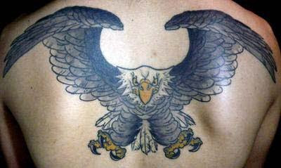 Tattoo Burung Elang - Eagle Tattoos