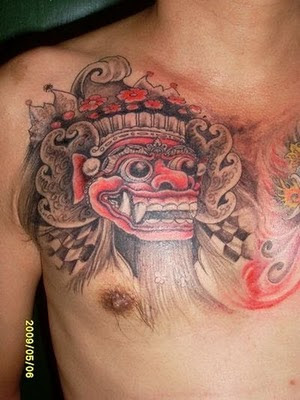 Balinese Tattoo by Abenk