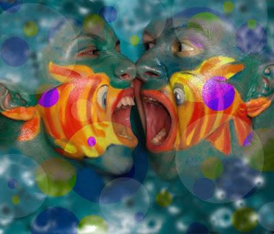 Foto Lucu Face Painting