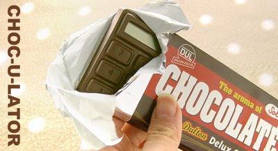 Chocolate + Calculator