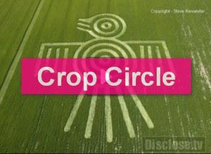 Crop Circle UFO