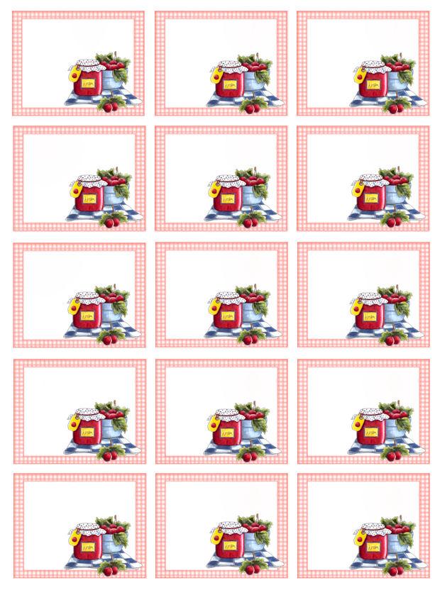 Populaire il mio angolo creativo: Etichette marmellate stampabili WC65