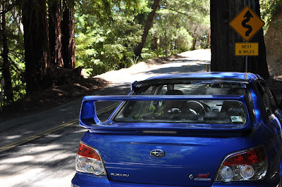 STi at Big Basin Redwoods State Park