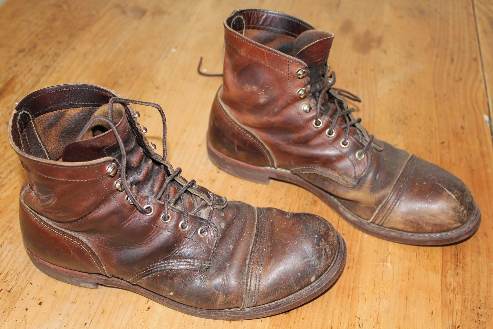 Vintage Workwear Red Wing Work Boots 年季の入った渋イイブーツ(boots