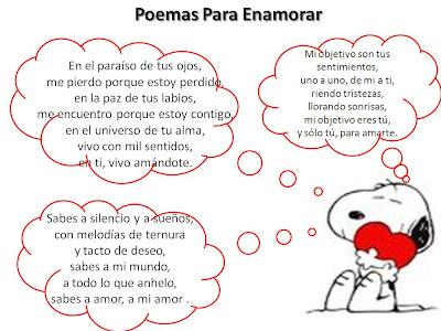 Poemas de amor para enamorar una chica