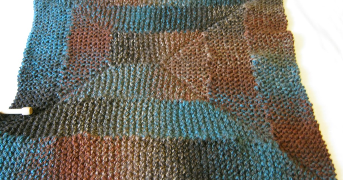 Knitting Pattern For 10 Stitch Blanket : The Art of Tying Holes Together: Visual Aids