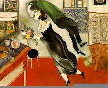 El cumpleaños- Marc Chagall