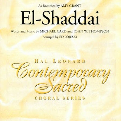 3041422 Download CD Amy Grant   El Shaddai: Hal Leonard Conteporary Sacred   Choral Series (199?)