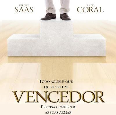 Capa CD Sergio Saas   E Raiz Coral   Vencedor | Baixar CD Gospel Grátis