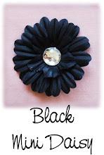 Black Mini Daisy