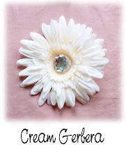 "4"" Cream Gerbera"
