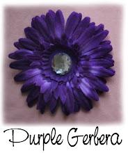 "4"" Purple Gerbera"