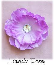 "4"" Lavender Peony"