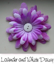 """3"""" Lavender and White Daisy"""