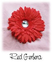 """4"""" Red Gerbera"""