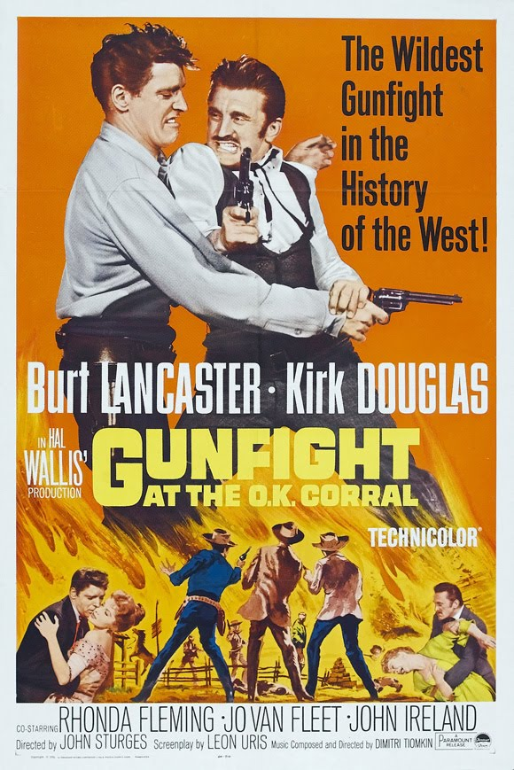 The film Gunfight at the O.K. Watch Every Film By August 2010 580x869 Movie-index.com