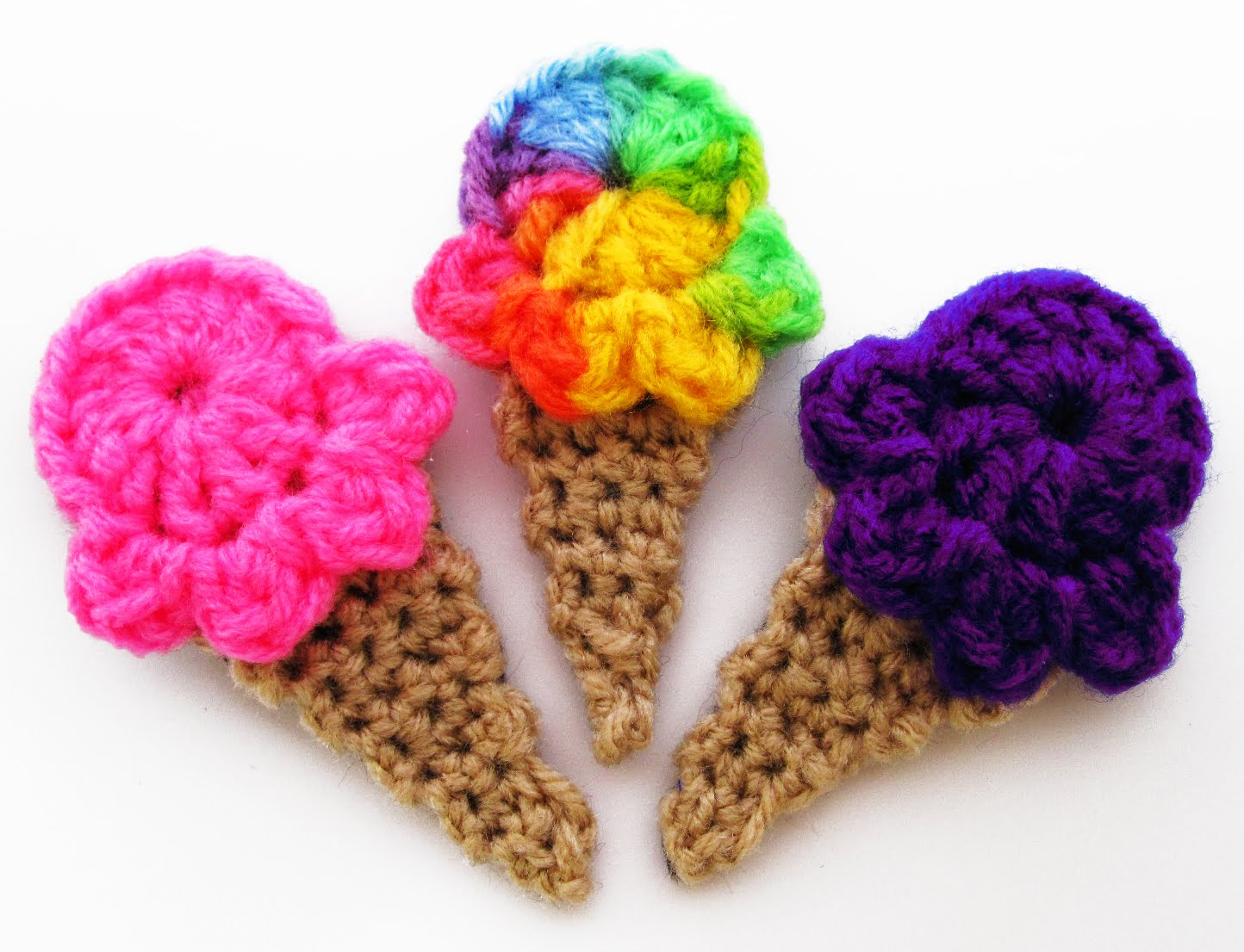 Crocheting Accessories : Crochet Pattern Central Free Hair Accessories Crochet Auto Design ...