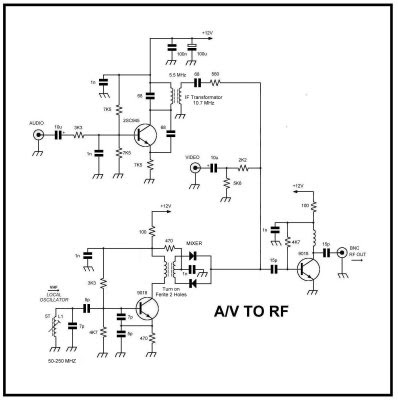 Cool Av Sender Circuit Schematic Basic Electronics Wiring Diagram Wiring Database Denligelartorg