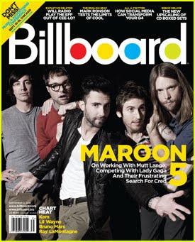 Maroon 5 Band Covers Billboard Magazine