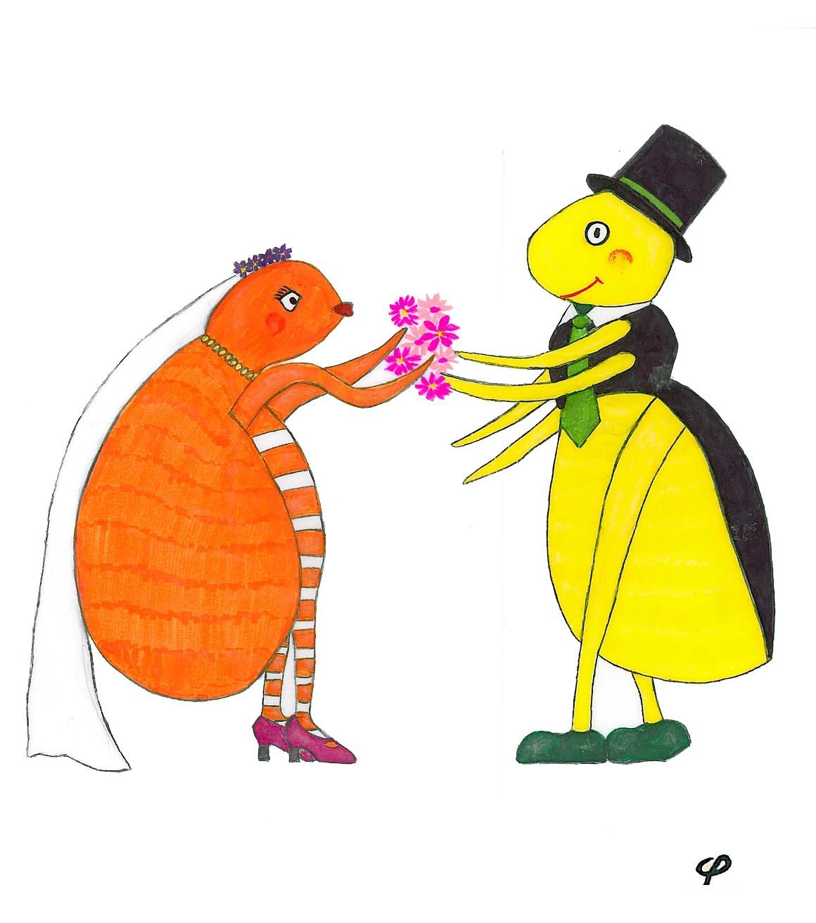 Literatura Infantil - Bienvenidos -: La boda de los gorgojos