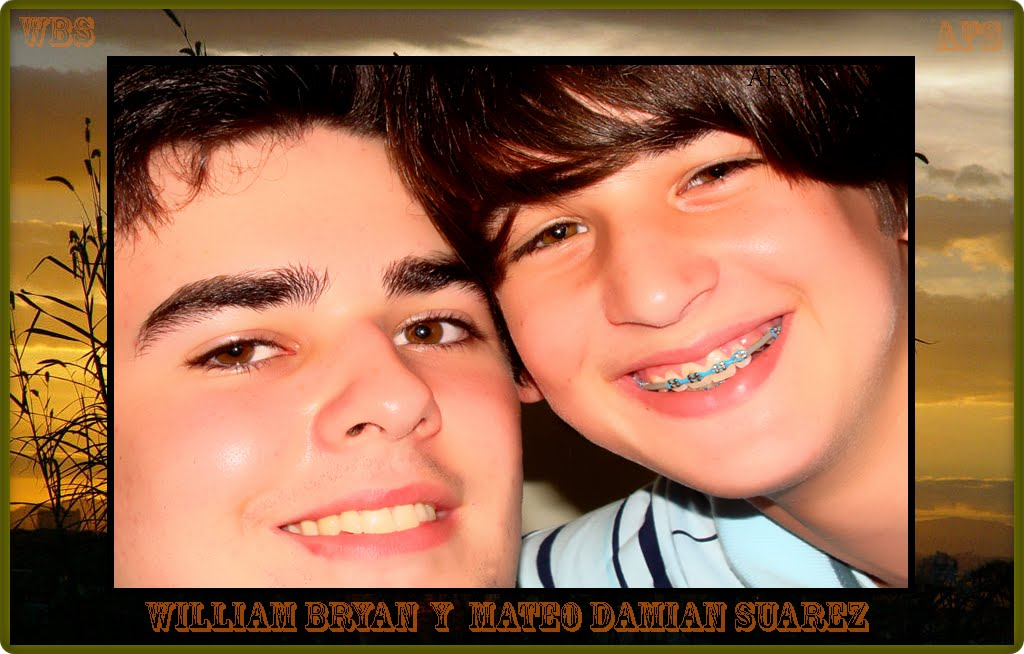 WILLIAM BRYAN  Y  MATEO DAMIAN SUAREZ