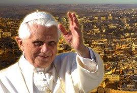 Benedicto Visita Tierra Santa Israel