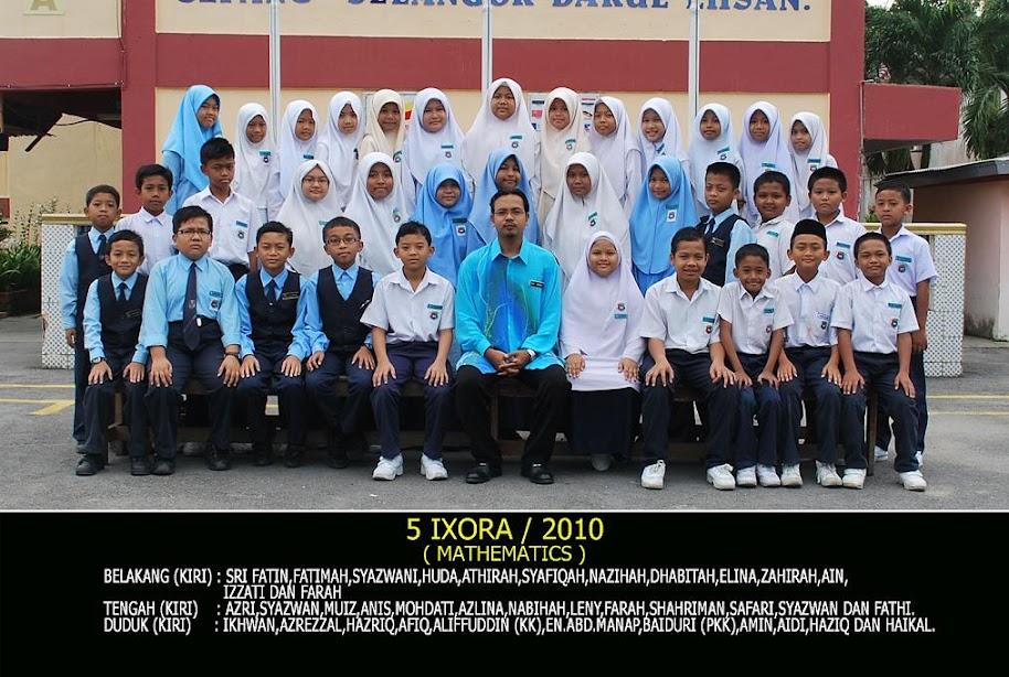 Bersama anak murid 2010