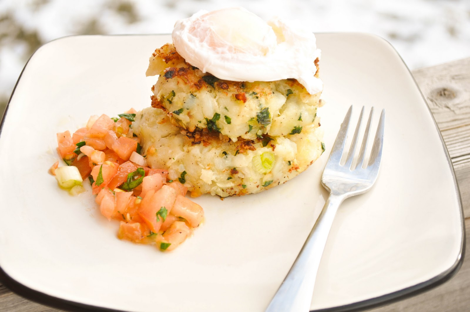 Bubble And Squeak Cakes bubble & squeak cakes with poached egg: my ...