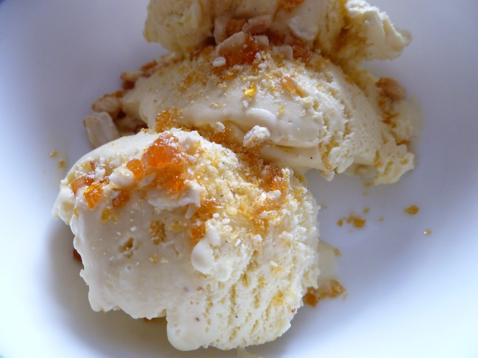 Good Eats from India: Butterscotch ice cream